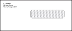 Personalized Window Envelope